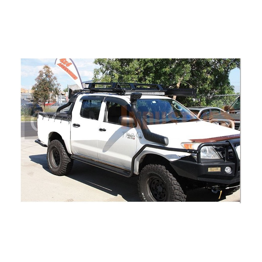 steel roof rack toyota pick up hilux vigo double cab. Black Bedroom Furniture Sets. Home Design Ideas