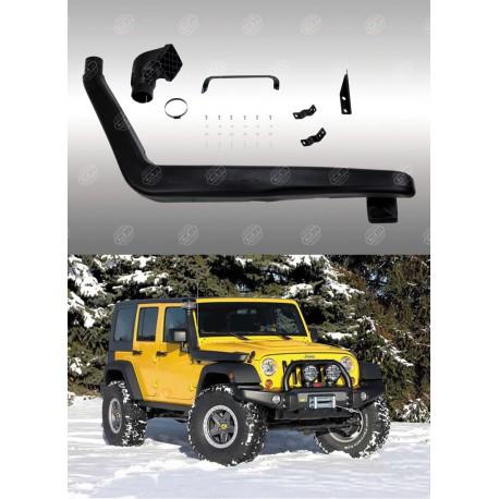 snorkel pour jeep wrangler jk 2007 accessoires4x4 ch. Black Bedroom Furniture Sets. Home Design Ideas