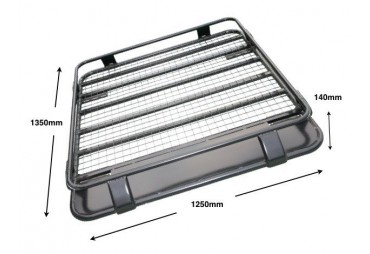 STEEL ROOF RACK  Toyota Pick up Hilux Vigo Double Cab