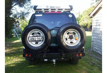Pare choc double porte roue Toyota Land cruiser 80 series