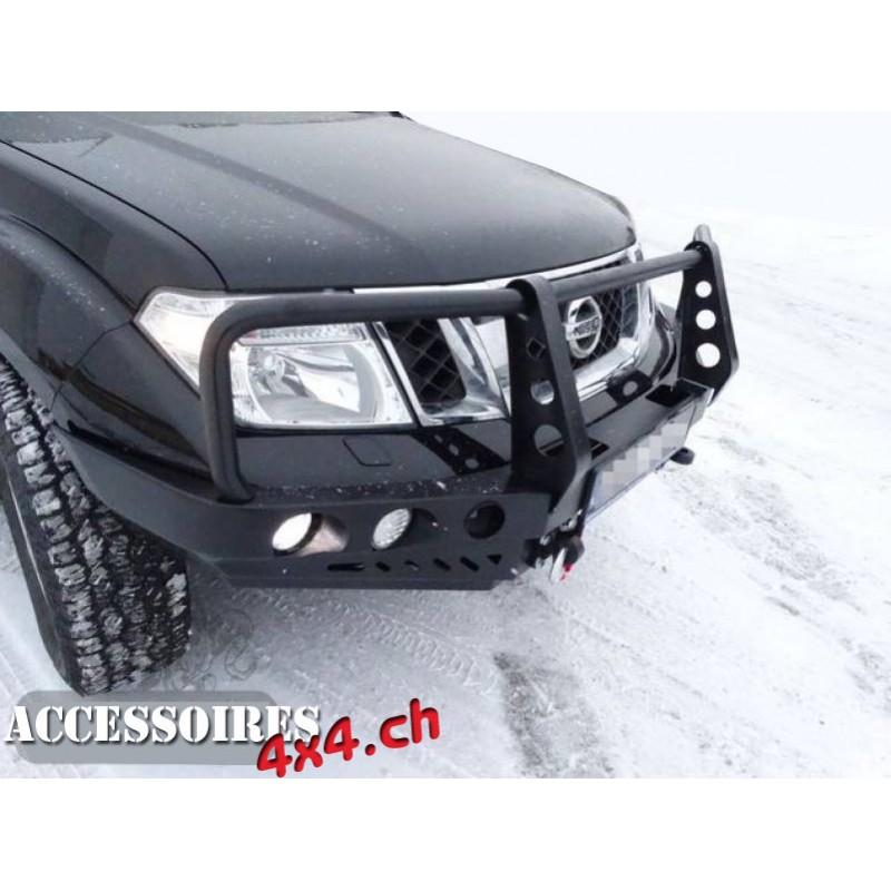 Pare choc- Bullbar - Porte treuil avant F4x4 Nissan Patrol GU4