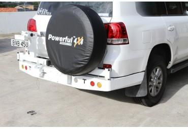 Pare choc double porte roue Toyota Land cruiser 200 series
