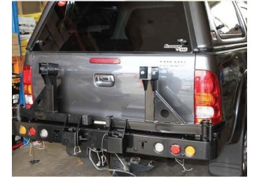Pare choc double porte roue Toyota Pick up Hilux (2005+)