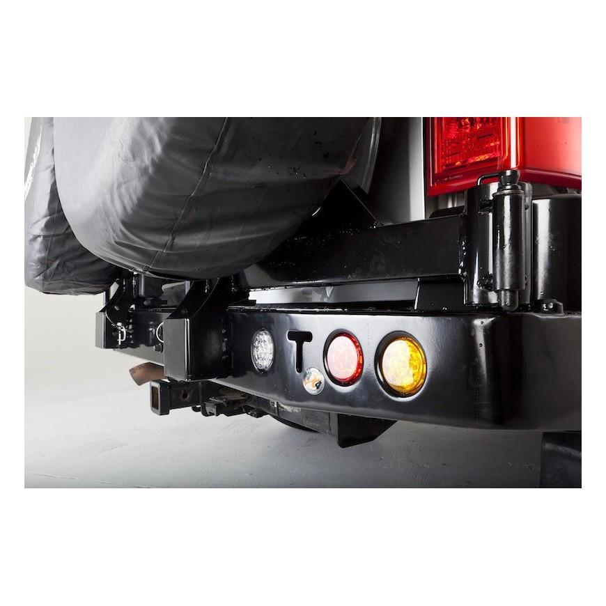 wheel carrier nissan patrol y61 1197 2004 accessoires4x4 ch. Black Bedroom Furniture Sets. Home Design Ideas