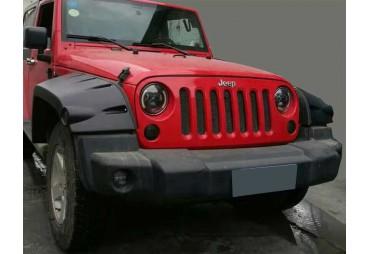 SET 4 LODERAS (FENDERS FLARES)  PARA Jeep Wrangler JK  2007-2014