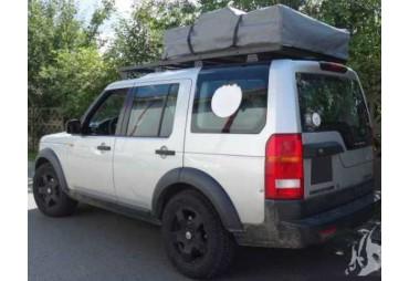 Galerie de toit acier Land Rover Discovery 3