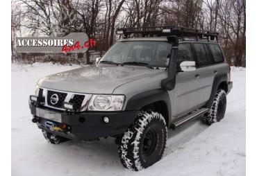 Pare choc avant F4x4 Nissan Patrol GU4