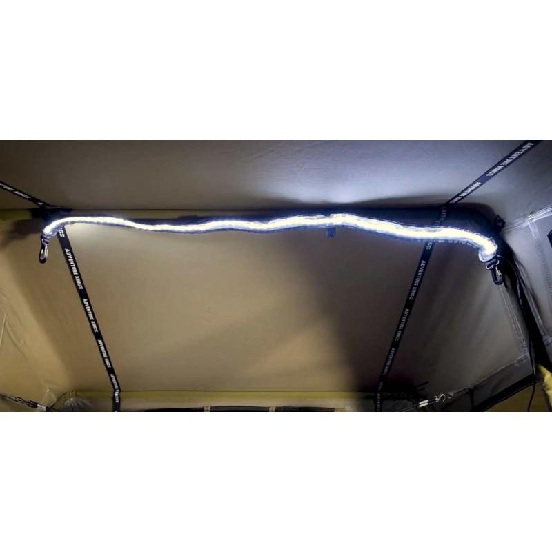 streifenlicht led beleuchtung 1 3 m haken und klettverschluss 12 volt accessoires4x4 ch. Black Bedroom Furniture Sets. Home Design Ideas