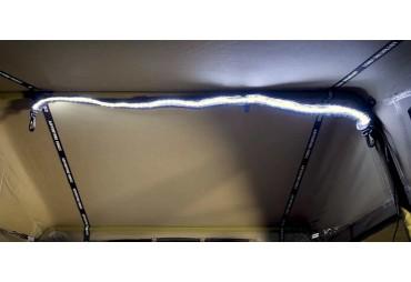 Streifenlicht LED Beleuchtung | 1,3 m | Haken und Klettverschluss | 12 Volt