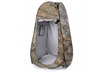 Sacchetto impermeabile del guardaroba della doccia della spiaggia di campeggio della tenda impermeabile