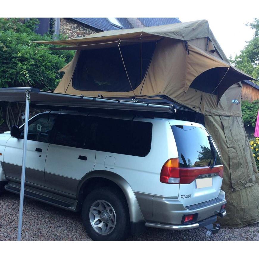 tente de toit kalahari maxi kings 190 accessoires4x4 ch