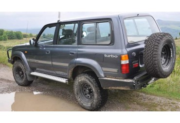 TOYOTA LANDCRUISER 80 ROCK ARMOR SIDE STEPS