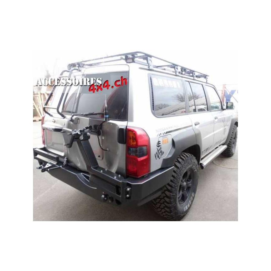 Rear Bumper Nissan Patrol Y61 - ACCESSOIRES4X4 CH
