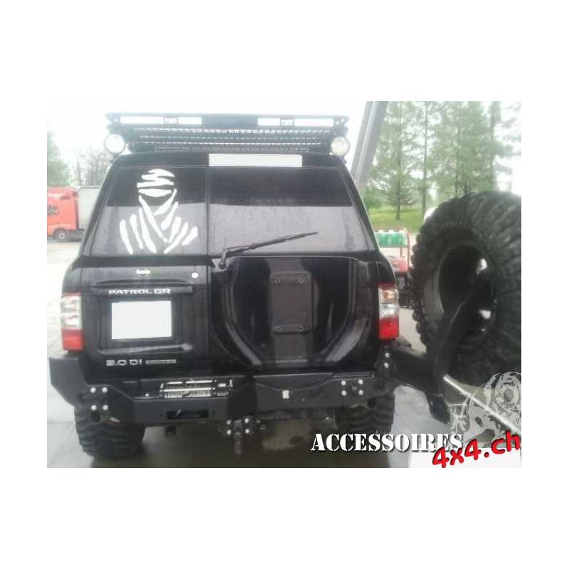 Rear Bumper winch support Nissan Patrol Y61