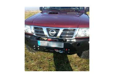Front bumper without buffalo Nissan Patrol Y61