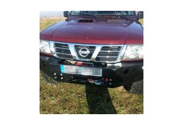 Pare-choc avant sans par-buffle Nissan Patrol Y61