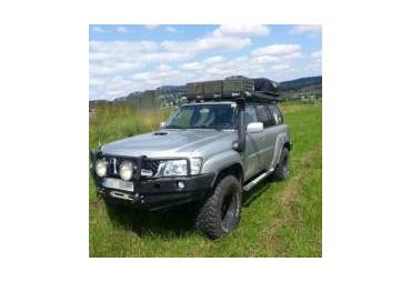 Front bumper with buffalo Nissan Patrol GU4