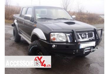 Front bumper with buffalo Nissan Navara D22 97-00