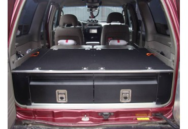 Rangement avec tiroir pour Nissan Patrol Y61 GU4