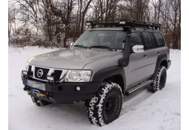 Versione lunga Nissan Patrol Y60 Roofless Roof Rack