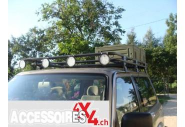 Galerie de toit sans grille Nissan Patrol Y60 Version courte
