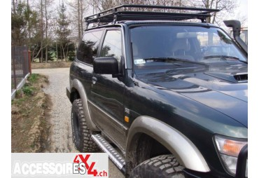 Versione corta Nissan Patrol Y60 Roofless Roof Rack