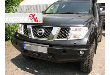 Pare-chocs avant sans barre stabilisatrice Nissan Navara D40 05-10
