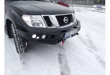 Pare-choc avant sans barre stabilisatrice Nissan Navara D40 10-14