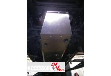 Couvre châssis en aluminium Nissan Navara D22 01-04