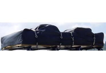Bâche protection PVC pour tente de toit repliée 120x140x30
