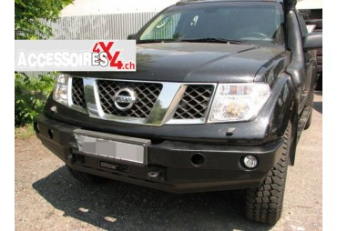Front bumper without bullbar Nissan Navara D40 10-14