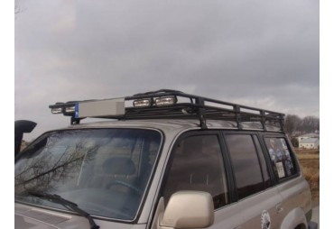 Dachträger mit Kühlergrill Nissan Patrol Y60 Long Version