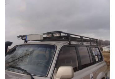 Portapacchi con griglia Nissan Patrol Y60 Versione lunga