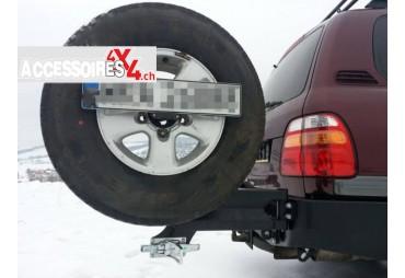 Porte roue Toyota J80