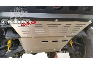 Toyota J80 chassis protection plate