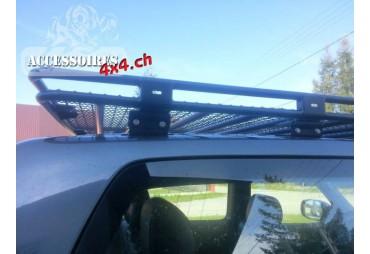 Galerie de toit avec grille Nissan Patrol Y60 Version longue