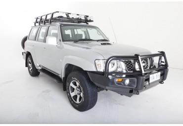 Premium steel bullbar Nissan Patrol 2004+
