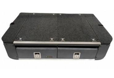 Lagerung mit Schublade für Nissan Patrol Y61 GU4