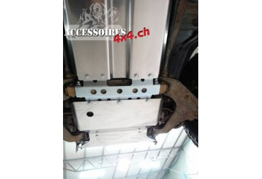 Reducer aluminium cover MITSUBISHI PAJERO II 91-99 automatic