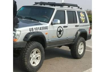 Kit de 4 élargisseurs d'aile Jeep TJ