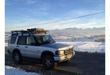 Versione lunga Nissan Patrol Y60 Roofless Roof Rack