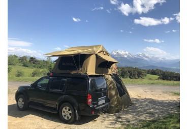 Dachzelt Luxus-Version Kalahari 3-4 Plätze - 2 Markisen
