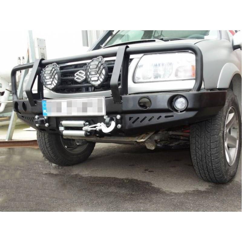 Front bumper with buffalo GRAND CHEROKEE WJ 99-04