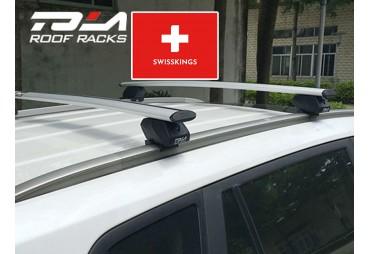 Universal roof bars for flush rail