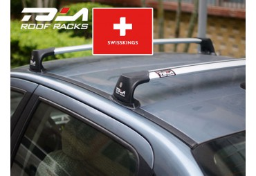 Universal roof bars for vehicule with fixed mount points