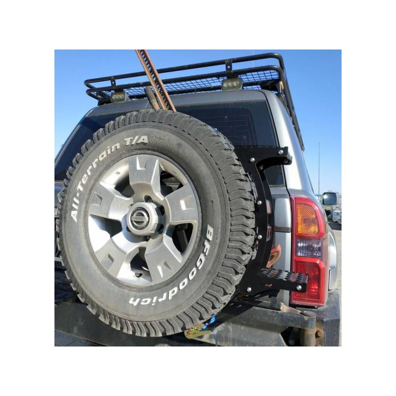 Universal wheel step