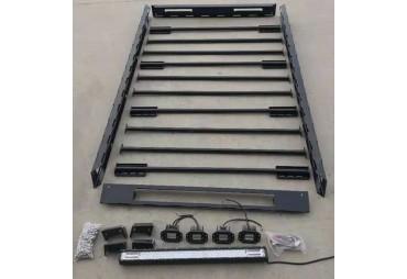 STAHLDACHTRÄGER  220 cm system wird montiert - LED EINSCHLIESSLICH