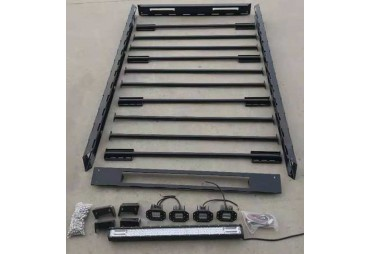 STEEL ROOF RACK 220 cm  (assemblee model) - Led included