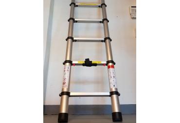 échelle télescopique en aluminium