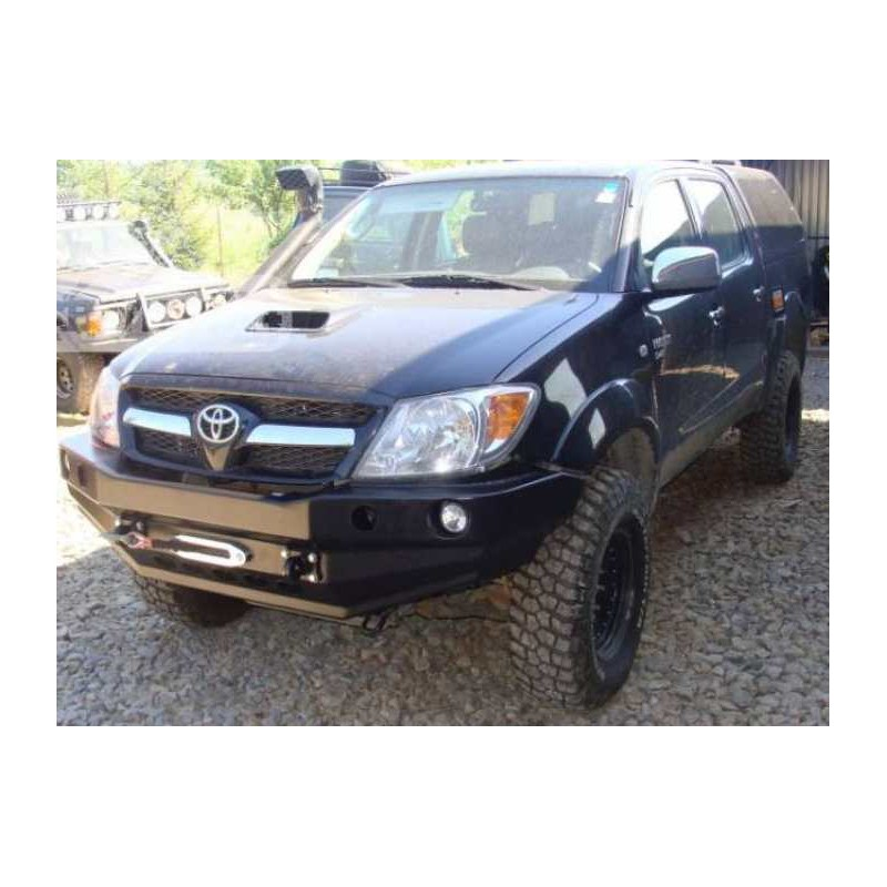Front bumper without bullbar toyota land cruiser j80 89-98